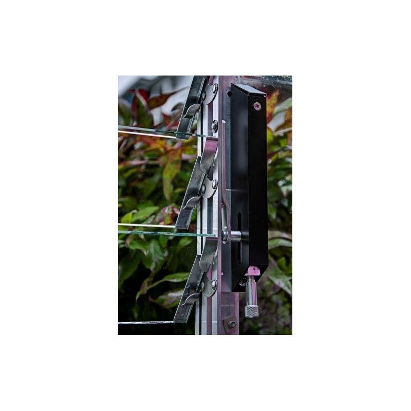 Kasvuhoone külgakna ribide automaatavaja Louvre Vent Opener